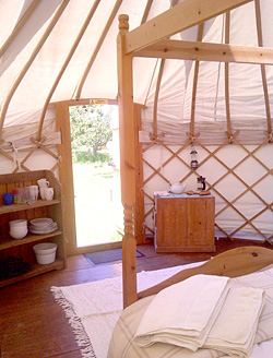Inside a Really Green Holiday Company Yurt